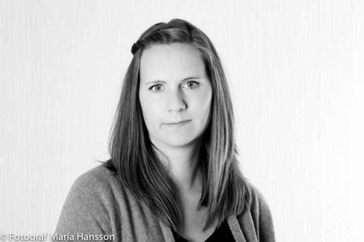 På bilden: Fotograf Maria Hansson