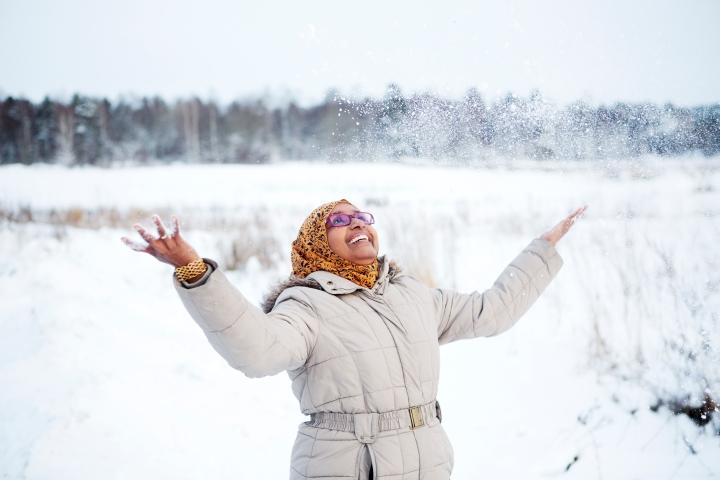 Fotograf Maria Hansson. Fatumo Osman SSK, lärare på Högskolan Dalarna.